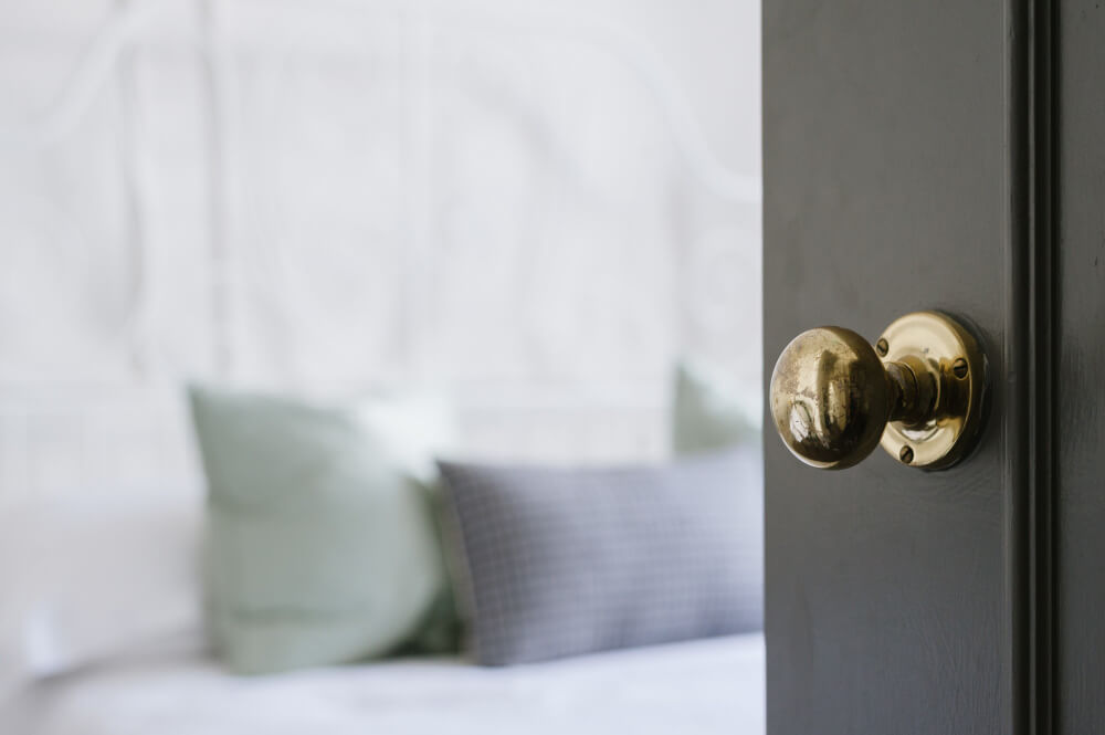 One of the most common home security mistakes is leaving the doors and home windows un-locked.