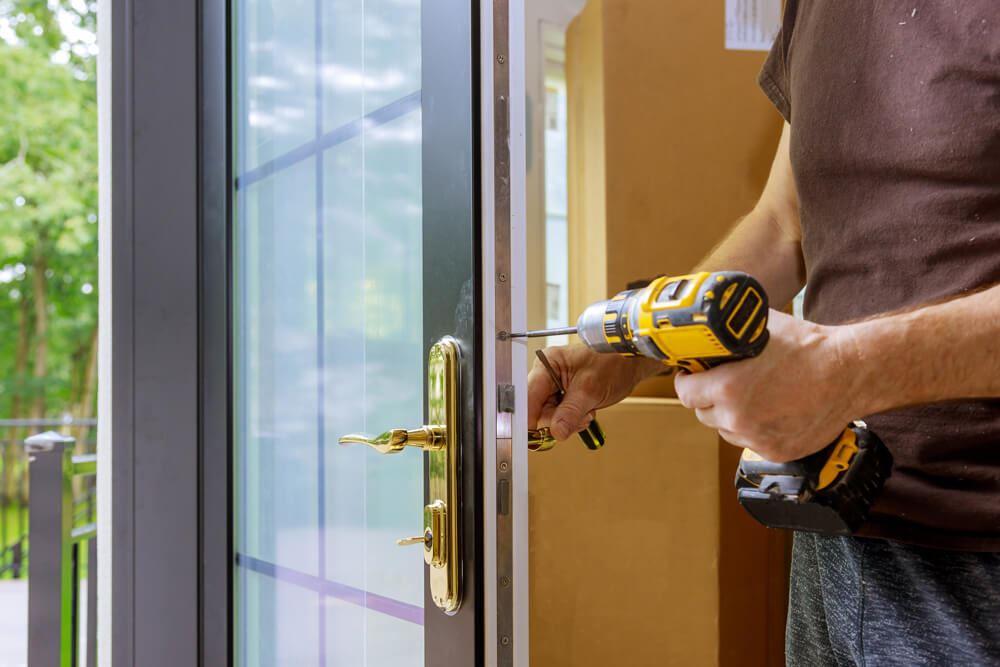 full spectrum door lock installation